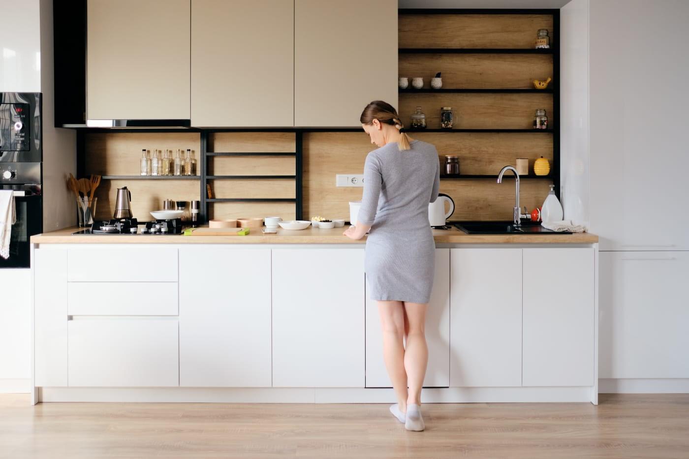 кухонний фартух з пвх панелей