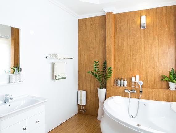 пластиковые панели для стен в ванную